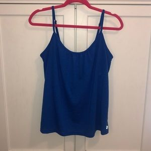 GUC Lilly Pulitzer Luxletic Tank Blue Size Small